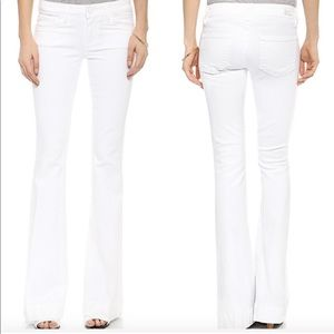 Paige Fiona flare white jeans